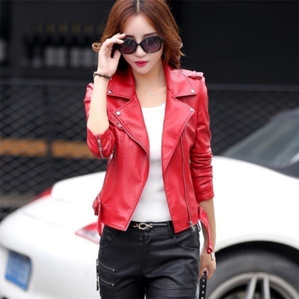 Red-leather-jacket
